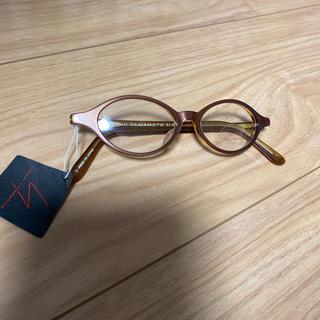 ヨウジヤマモト(Yohji Yamamoto)の(オールドヨウジ)  ヨウジヤマモト   クリアフレームメガネ 茶(サングラス/メガネ)