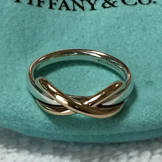 Tiffany & Co. - TIFFANY&CO SV K18 リング
