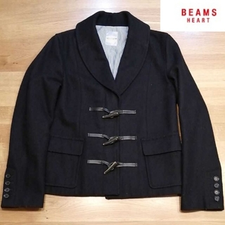 ビームス(BEAMS)のダッフルジャケット BEAMS HEART ネイビー(ダッフルコート)