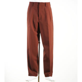 マルニ(Marni)のMARNI 19ss TROPICAL WOOL PANTS BROWN(スラックス)