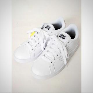 アディダス(adidas)の【新品】adidas アディダス スニーカー 白 23cm(スニーカー)