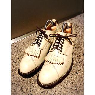 トゥモローランド(TOMORROWLAND)のfoot the coacher フットザコーチャー   24.5㎝ (ドレス/ビジネス)