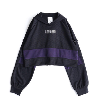 シャリーフ(SHAREEF)の【極美品】SHAREEF MONOGRAM JQ SHORT PARKA(パーカー)
