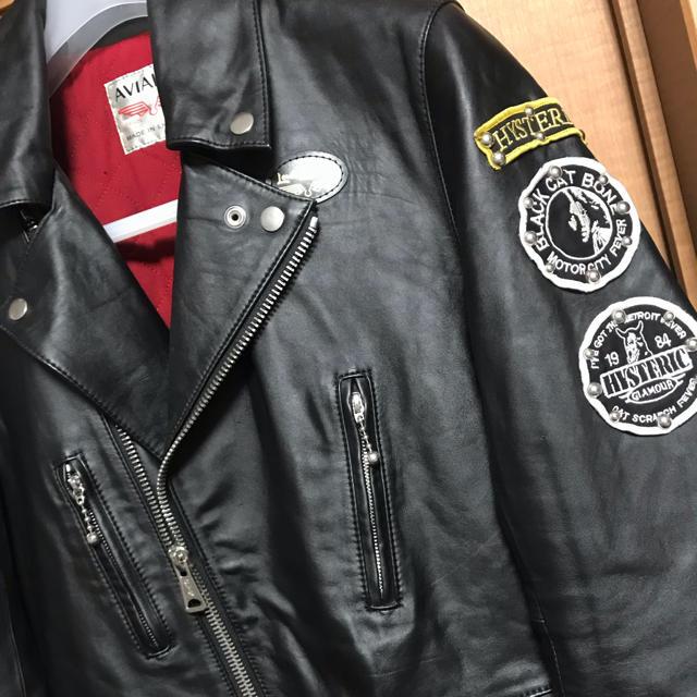 Lewis Leathers(ルイスレザー)の値下げ可!ヒステリックグラマー×ルイスレザーコラボジャケット メンズのジャケット/アウター(ライダースジャケット)の商品写真