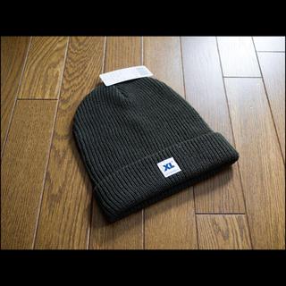 エクストララージ(XLARGE)の新品未使用 XLARGE ビーニー ニット帽 グリーン(ニット帽/ビーニー)