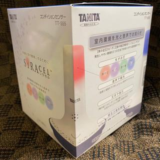 タニタ(TANITA)のタニタ 温湿度計 コンディションセンサー SIRACEL青インフルエンザ対策(日用品/生活雑貨)