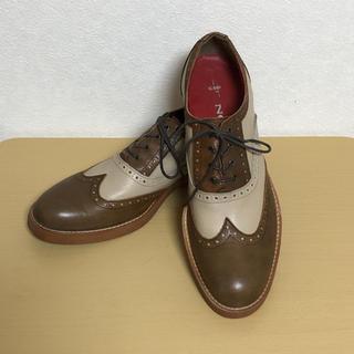 NO ID. - ◆NO ID. 革靴 ウィングチップ◆
