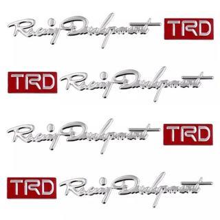 ドアハンドル用ステッカー TRD 4枚セット