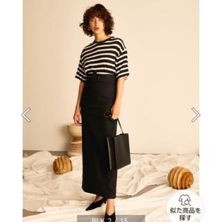 ミラオーウェン(Mila Owen)の新品ロングタイトスカート*送料込(ロングスカート)