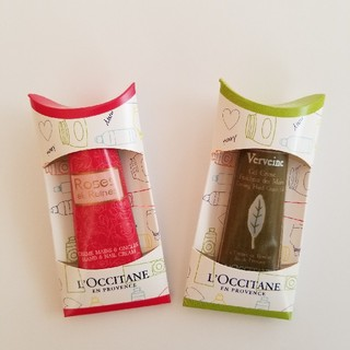 L'OCCITANE - ロクシタン ハンドクリーム ミニサイズ 2個セット