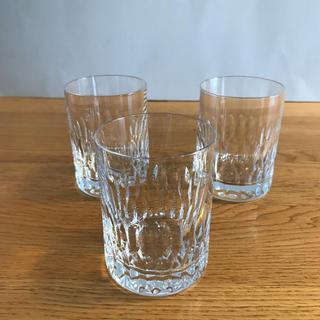 HOYA ロックグラス(ウイスキーグラス) 3点セット