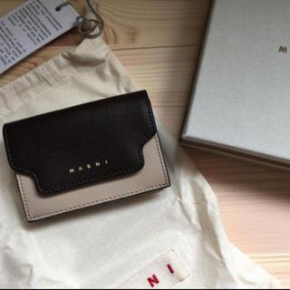Marni - MARNI コンパクト三つ折り財布