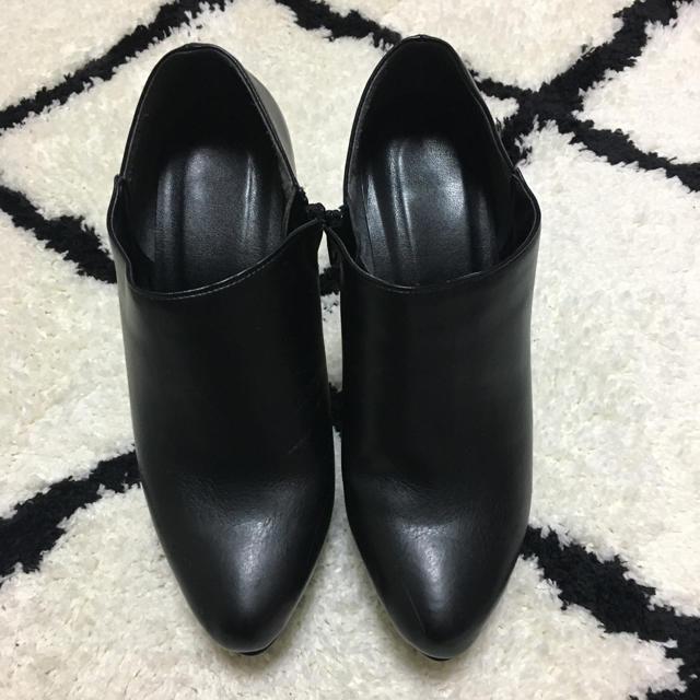 パンプス ショートブーツ レディースの靴/シューズ(ブーティ)の商品写真