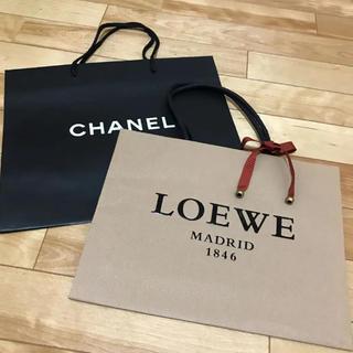 LOEWE - 2枚セット★CHANEL★LOEWE★リボン付ショップ袋★