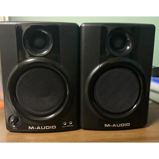 ヤマハ(ヤマハ)のM-AUDIO AV40 モニタースピーカー【ステレオケーブル付】(スピーカー)