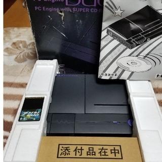 エヌイーシー(NEC)のPCエンジンDUO本体 アーケードカードケース無し(家庭用ゲーム機本体)
