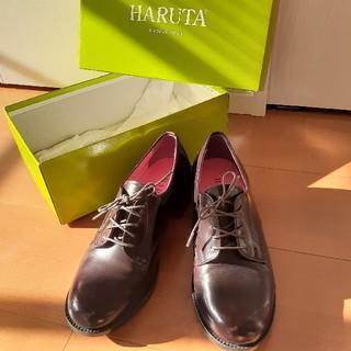 ハルタ(HARUTA)の美品。ローファー(約5㎝ヒール)(ローファー/革靴)