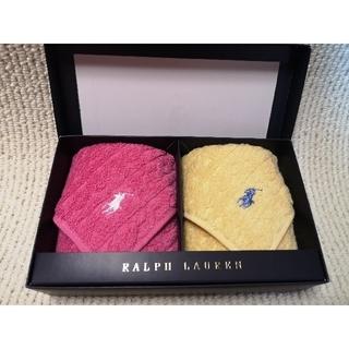Ralph Lauren - RALPH  LAUREN タオルハンカチ2枚セット