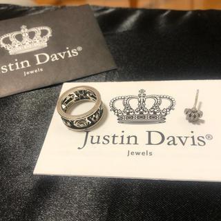 Justin Davis - マイラブリング 11号タイニークラウンイヤリング