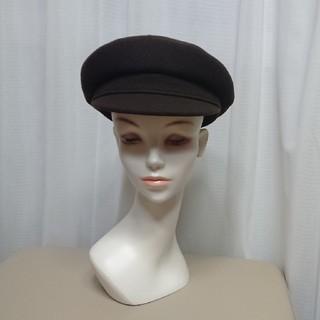 エルメス(Hermes)のHERMES エルメス キャスケット 帽子 ブラウン(キャスケット)
