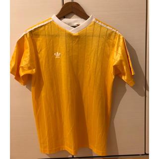 アディダス(adidas)の80's/90'sadidas ヴィンテージ サッカー  Tシャツ USA製(Tシャツ/カットソー(半袖/袖なし))
