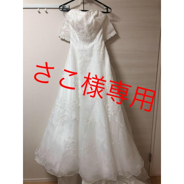 AIMER(エメ)のさこ様専用 quaroクアロ ウェディングドレス  レディースのフォーマル/ドレス(ウェディングドレス)の商品写真
