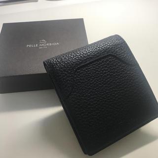 PELLE MORBIDA - ペッレモルビダ シュリンクレザー 二つ折り財布