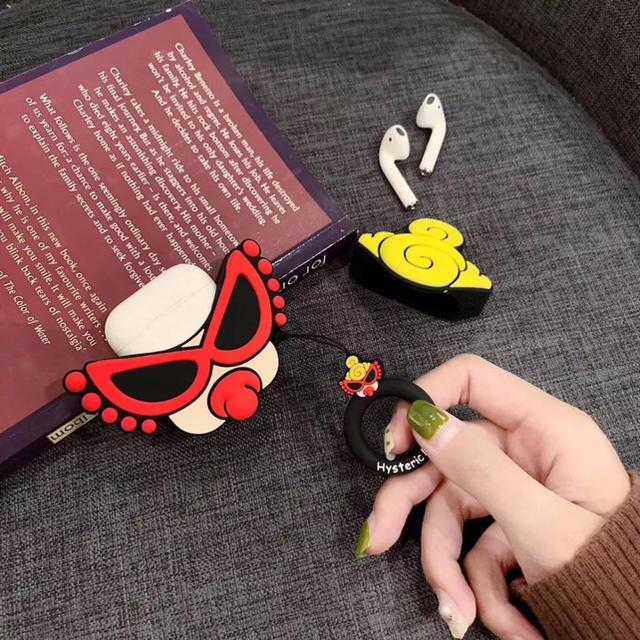 HYSTERIC MINI(ヒステリックミニ)の【新品】AirPods シリコンケース ヒステリックミニ★ スマホ/家電/カメラのスマホアクセサリー(モバイルケース/カバー)の商品写真