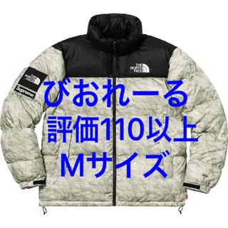 Supreme - Mサイズ Supreme Paper Print Nuptse Jacket