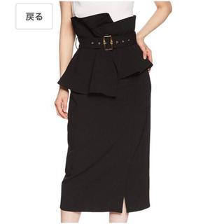 snidel - スナイデル ハイウエストポンチタイトスカート