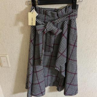 LAISSE PASSE - 新品タグ付き レッセパッセ♡チェックフレアスカート