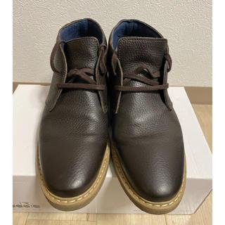 バーニーズニューヨーク(BARNEYS NEW YORK)の美品 バーニーズニューヨーク購入  デザートブーツ イタリア製 39(ブーツ)