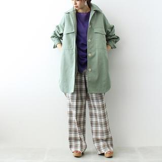DRESSLAVE - <DRESSLAVE>big over shirts coat