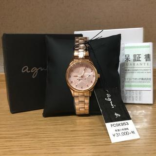 agnes b. - アニエスベー♡腕時計♡レディースウォッチ♡新品未使用♡タグ付き