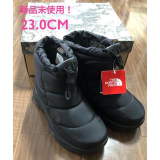 ザノースフェイス(THE NORTH FACE)の新品未使用 ノースフェイス ヌプシ ブーツ ブラック 5インチ 23cm(ブーツ)