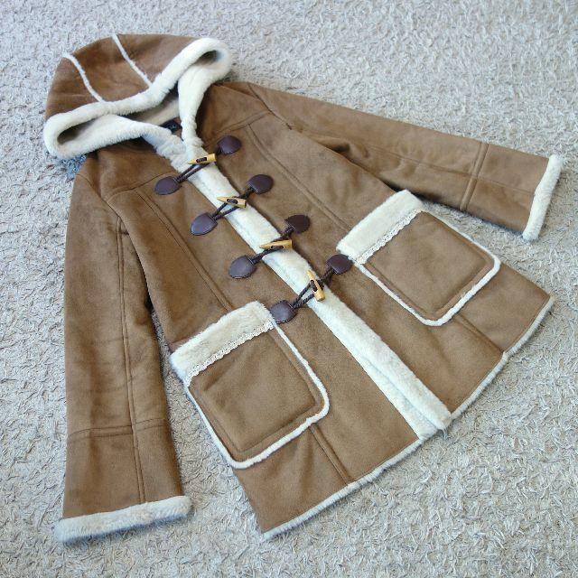 COCO DEAL(ココディール)のCOCO DEAL/ムートンダッフルコート レディースのジャケット/アウター(ダッフルコート)の商品写真