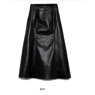 Lily Brown - リリーブラウン フェイクレザースカート
