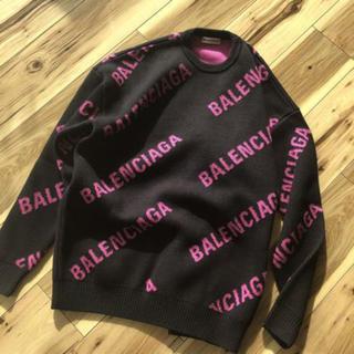 Balenciaga - バレンシアガロゴニットセーター