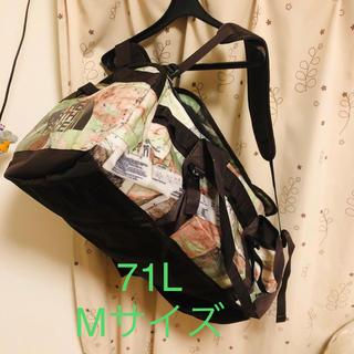 ザノースフェイス(THE NORTH FACE)のBC DUFFEL M 71L リュック  新品未使用☆(バッグパック/リュック)