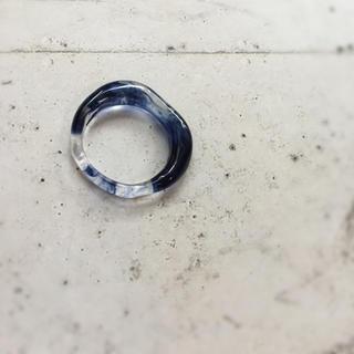 ブルー ニュアンス リング 約7号(リング(指輪))