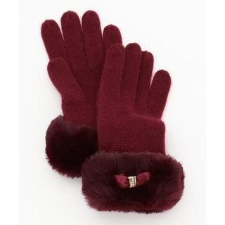 TOCCA - トッカ FUR CASHMERE GLOVE 手袋 グローブ