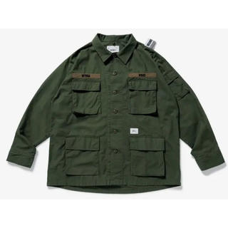 W)taps - WTAPS NEIGHBORHOOD JUNGLE LS オリーブ S サイズ
