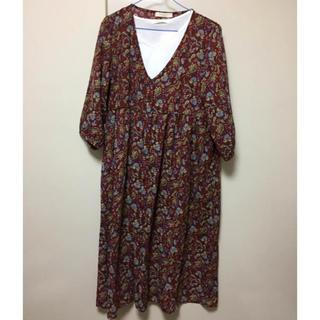 ショコラフィネローブ(chocol raffine robe)のショコラフィネローブ ガウン ワンピース(ロングワンピース/マキシワンピース)