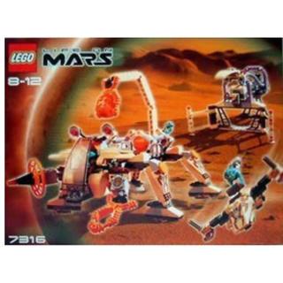 レゴ(Lego)の【プレミア商品】LEGO 7316 ライフ・オン・マーズ マーズ探査機(その他)