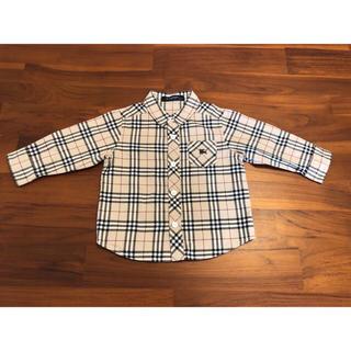 BURBERRY - バーバリーBURBERRYチェックシャツ80サイズ