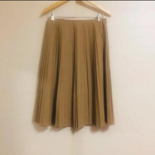 ミラオーウェン(Mila Owen)の新品同様美品  ミラオーウェン Mila Owen エコレザープリーツスカート (ロングスカート)