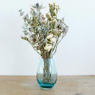 イッタラ(iittala)の【新品】holmegaard ホルムガード 花瓶 コクーン アクア 限定(花瓶)
