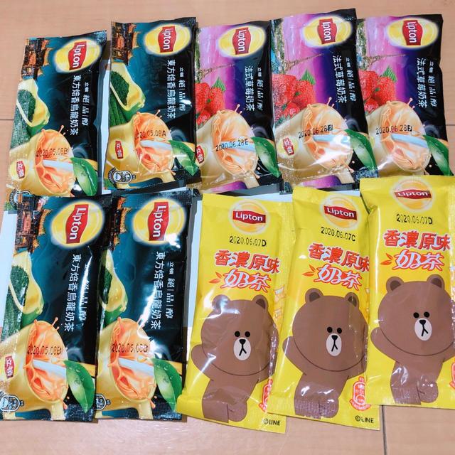 台湾リプトン ミルクティーセット 食品/飲料/酒の飲料(茶)の商品写真