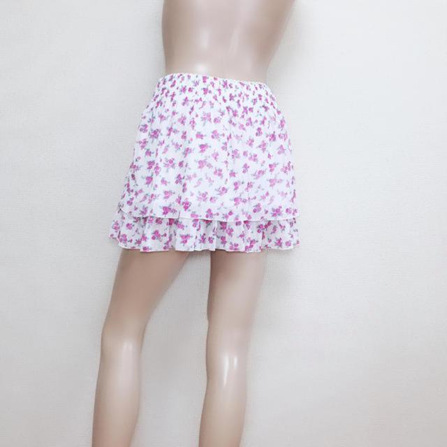CECIL McBEE(セシルマクビー)のもて服♪セシルマクビー ガーリー 段フレアスカート♡ダズリン リエンダ レディースのスカート(ミニスカート)の商品写真