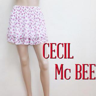 CECIL McBEE - もて服♪セシルマクビー ガーリー 段フレアスカート♡ダズリン リエンダ